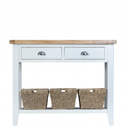 Toulouse White Large Console Table